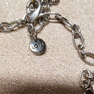 LOFT Jewelry - Ann Taylor Loft Long Necklace Clear Beads